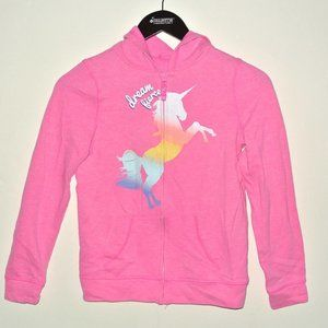 So Perfect Zip Up Hoodie Pink Unicorn 12